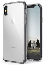 For iPhone X 10 | Ringke [FUSION] Clear PC Back Shockproof Protective Cover Case