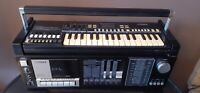 Vtg Fisher Boombox W/ Keyboard Stereo Music Composer SCK 30 For Parts