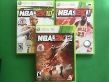 NBA 2K10, NBA 2K11, NBA 2K12 (Microsoft Xbox 360)