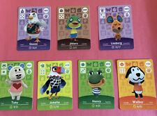 Animal Crossing Amiibo Cards - Series 1 LOT - U.S. Version