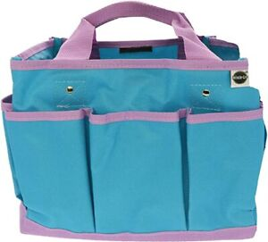 West Chester Miracle-Gro Garden Tote Bag: Multi Pocket Gardening Hand Tool Org