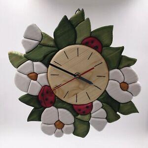 Strawberry flower Clock
