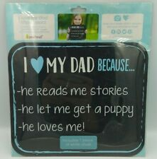 New Pearhead I Love My Dad Because Chalkboard 1 piece chalk snap and share