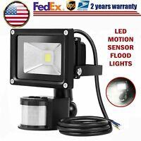 30W 50W 100W LED Flood Light PIR Motion Sensor Outdoor Garden Security Spotlight