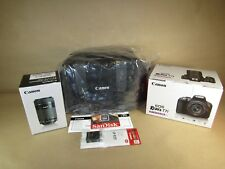 Canon EOS Rebel T7i 24.2MP DSLR Camera 8-55mm STM & 55-250mm Lens bundle
