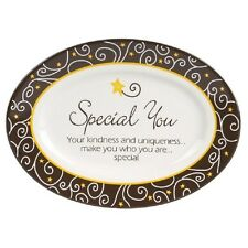 Life's Message Mini Plates w/metal Stand--#17708-Special You-Carson HOME Accents