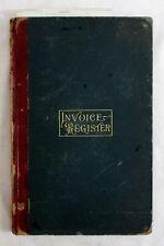 Antique 1898 Undertaker FUNERAL DIRECTOR LEDGER Embalming WARRENSBURG NY Journal