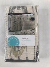 NIP Martha Stewart Collection Freebird One Pillowsham Standard Quilted Cotton