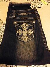 Cato Size 4 Capri/Cropped Jeans Super Cute Excellent Condition EUC