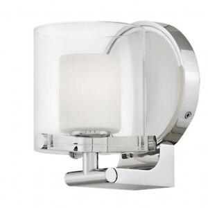 Hinkley Lighting 1 Light Rixon Bath Sconce, Chrome - 5490CM