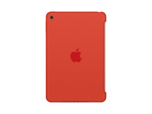 APPLE IPAD MINI4 SILICONECASE NARANJA