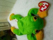 Ty Beanie Baby - Smoochy the Frog (8 Inch) Mint with Mint Tags - Plush Toy
