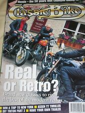 Classic Bike 07/98 50 years of Honda,Build a Triton, Triumph Adventurer, Indian