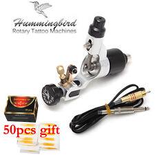 Pro Rotary Tattoo Machine Gun Swiss Motor with cord Cip Cable Hummingbird #tg