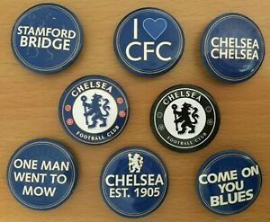 CHELSEA FC - 3, 4 or 6 Pin Button Badges Sets. Various Designs. Fan Gift *NEW*
