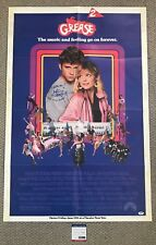 MAXWELL CAULFIELD Signed GREASE 2 Original 1982 Movie Poster One Sheet Birds PSA