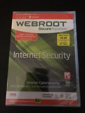 Webroot SecureAnywhere Internet Security - Full Version for Windows & Mac
