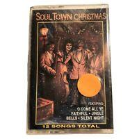 Soultown Christmas - Audio Cassette Tape Various Artist Soul Music 1992 Rare