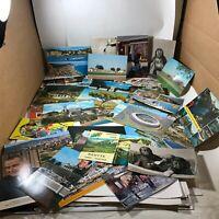 Lot of 40 Vintage Postcards World Traveler Blank Back