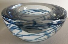 VINTAGE MURANO ? ART GLASS BOWL in EXC - Weighs 751 grams !