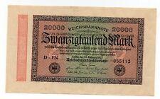 Duitsland / Germany - 20.000 Mark 1923