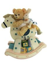 MusicBox Kingdom 18501 Bear on The Rocking Chair Music Box, Moves to The Melody
