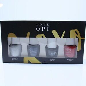 OPI Gel Color LOVE Collection 4 Piece Set (4)7.5 ml NIB