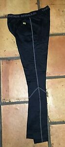UNDER ARMOUR FITTED COLDGEAR BASE 2.0 BLACK LONG UNDERWEAR PANTS MEN'S SMALL