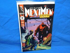 John Byrne's Next Men #21 Fn/VF (Dec 1993)1st Full Color Appearance of Hellboy