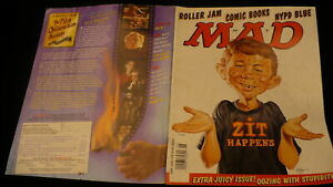 Super Special Mad magazine June 1999 #382 NYPD Blue & Roller Jam