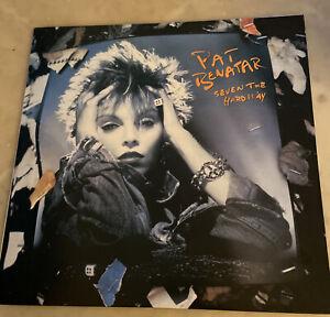 "Pat Benatar Seven The Hard Way 12"" Vinyl LP Record CHR 1507"