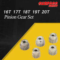 SURPASS HOBBY 48DP 3.175MM 16T 17T 18T 19T 20T Pinion Gear Set for 1/10 RC Motor