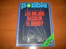 REVISTA POSIBLE Nº15 (PUBLICACIONES 33 - ABRIL 1975)