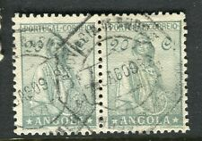 PORTUGUESE ANGOLA;  1930s early Ceres type issue fine used 20e. pair