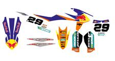 Kit grafiche graphic KTM SX 125 150 250 19-20 SXF 250 350 450 19-20 red bull