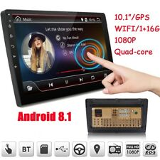"""10.1"""" 2Din Quad Core Car Stereo Radio GPS Wifi Touch MP5 Player 16G Android 8.1"""