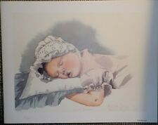 Sweet Dreams, Ruth Ann Sturgill limited edtion, signed and numbered, 9x12, baby