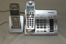 Panasonic cordless answering system with extra handset and base TESTED
