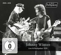 JOHNNY WINTER - LIVE AT ROCKPALAST 1979  2 CD+DVD NEUF