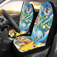New Unique Custom Pokemon Protector Cushions Car Seat Covers (Set of 2)