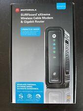 Motorola SURFboard eXtreme Wireless Cable Modem & Gigabit Router SBG6580