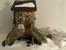"""Department 56 Dickens Village  """"The Maltings"""" lighted building 1995 - Retired"""