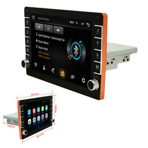 Car FM Stereo Radio 9in HD Touch Screen 32GB Bluetooth USB Mirror Link GPS Wifi