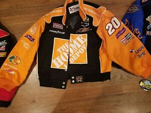 NEW KIDS XL tony stewart home depot jacket  NASCAR season