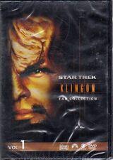 dvd - STAR TREK KLINGON FAN COLLECTION VOL.1