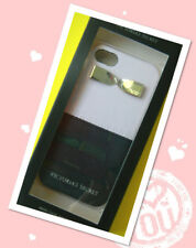 Victoria's Secret iPHONE GOLD BOW PINK/BLACK HARD CASE with iPhone 5/5S NEW