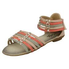Sandales multicolores avec attache auto-agrippant pour fille de 2 à 16 ans