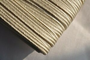 4mm Japanese silk tsuka-ito, ivory colour