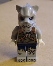 Lego Legends of Chima - Saber-Tooth Tiger Warrior ( Kämpfer grau ) Figur Neu