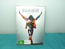 Michael Jackson's This Is It DVD Region 4 - Excellent Disc
